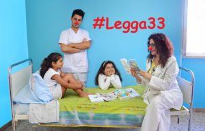 legga33 - progetti - letture ai bambini in ospedale