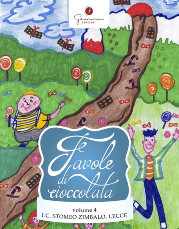 Copertina Favole di cioccolata - Vol 4 by Gemma Edizioni