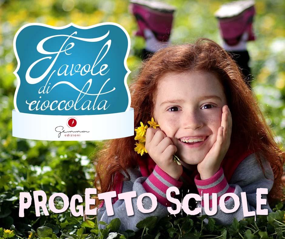 favole di cioccolata - progetto scuole - casa editrice Gemma Edizioni